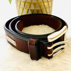 Fossil Leather Company Brown Genuine Leather Belt